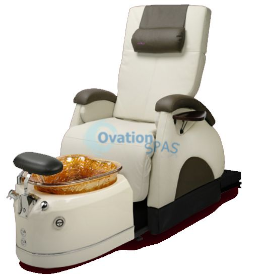 Ovation Back Zero 174 Deluxe Pedicure Chair