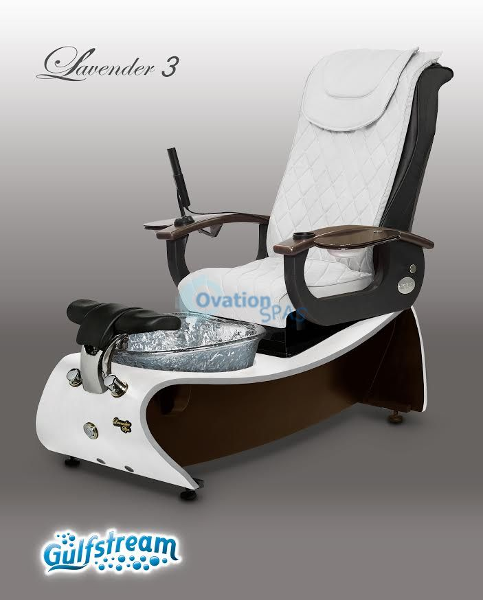 Gulfstream Lavender 174 3 Pedicure Spa Chair