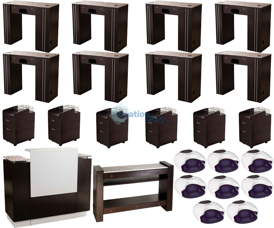 Custom Nail Salon Furniture Package