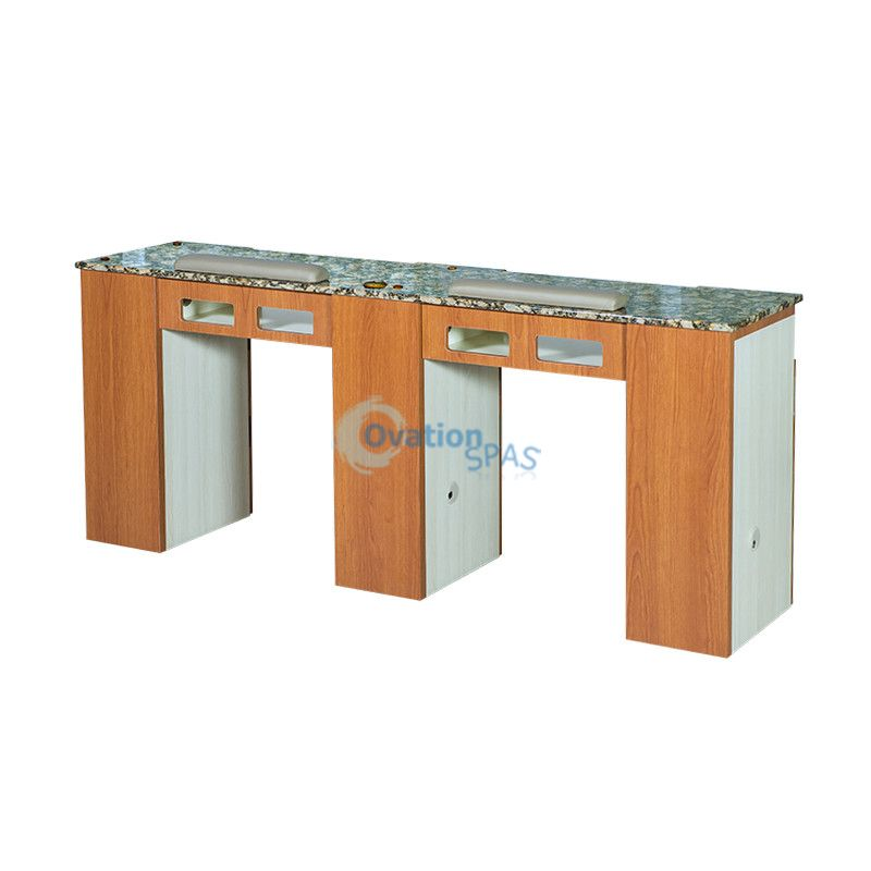 delightful L Shaped Manicure Table Part - 12: Double Manicure Table