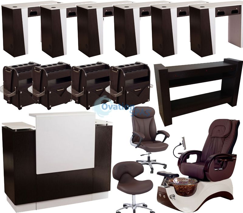 Pedicure Chair Package Package Deal For Nail Salon