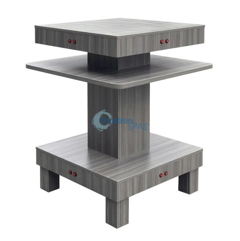 Nail Dryer Table - Grey Color