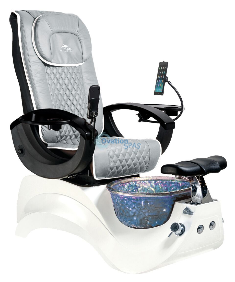Alden 174 Crystal Pedicure Spa Chair Ovationspas