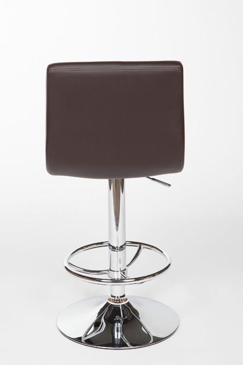 OS - 2 Nail Bar Stools (Brown) - U