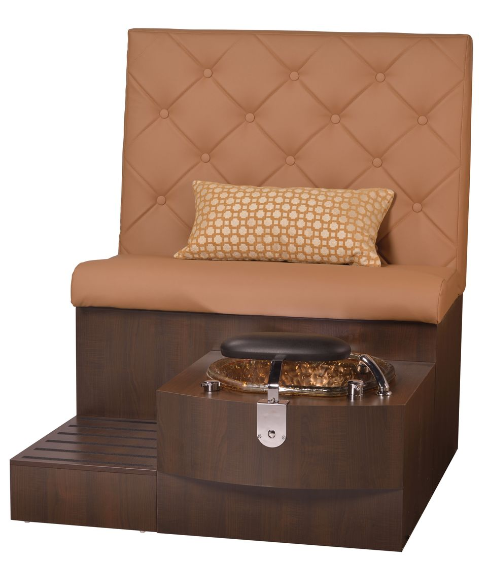 GS Kimberly® Day Spa Pedicure Bench