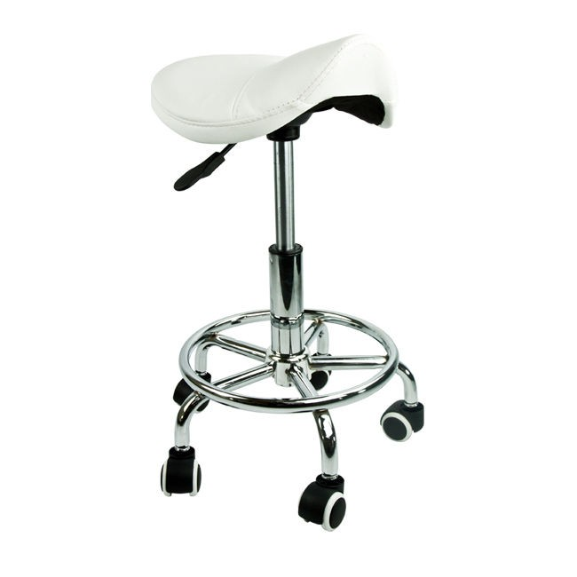 OS - 2 Saddle Nail Stools (White)