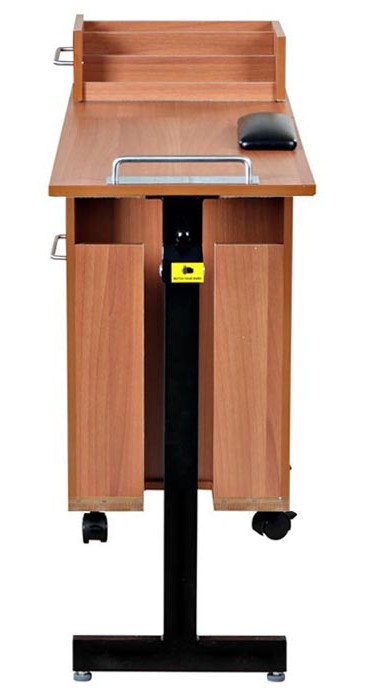 OS - Exceptional Manicure Station (Light Oak)