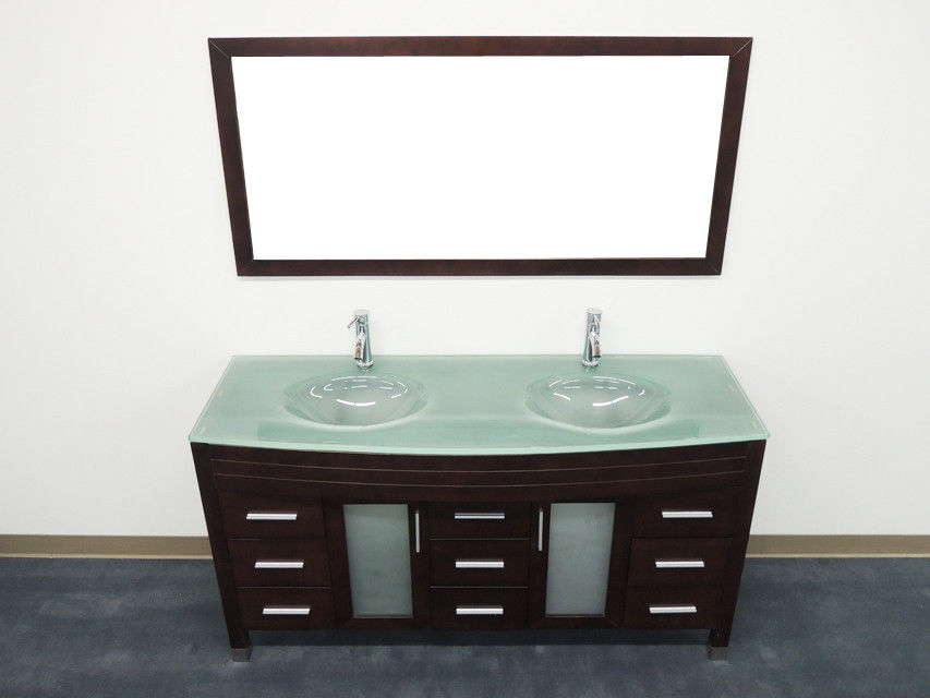 "OS - 63"" Contemporary Double Sink #G"
