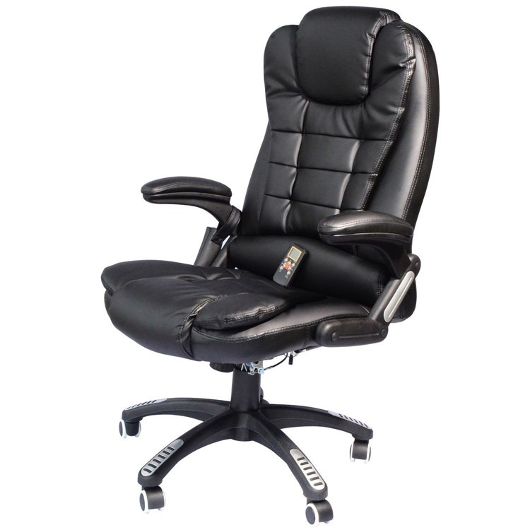 OS - Customer Chair with Heat Massage (Black)