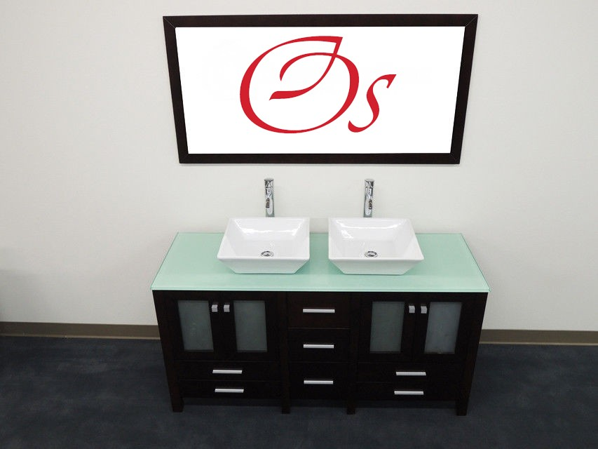 OS - Contemporary Double Sink #D