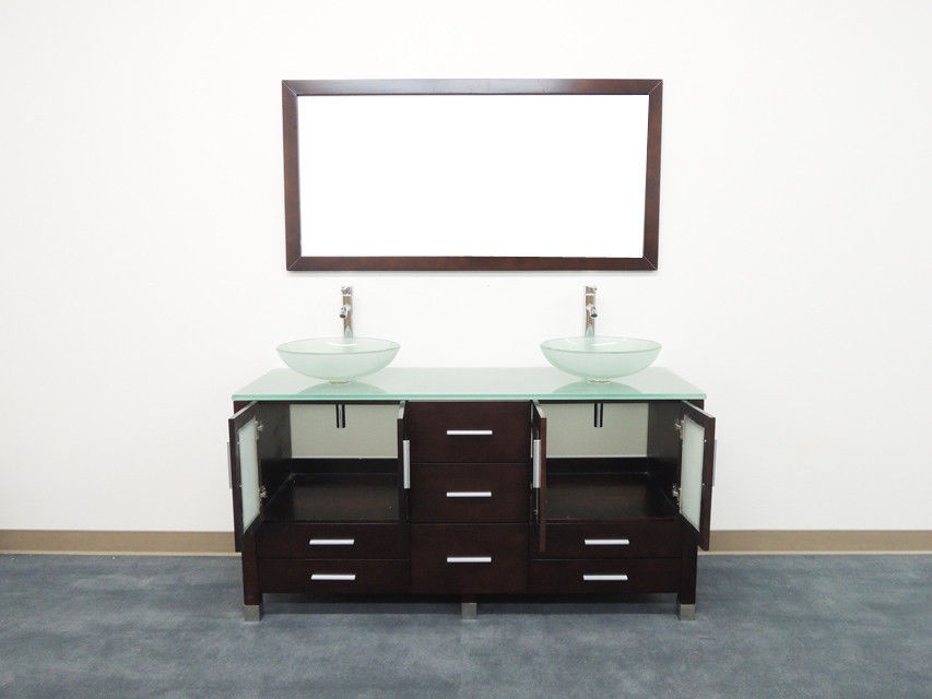 OS - Contemporary Double Sink #D1
