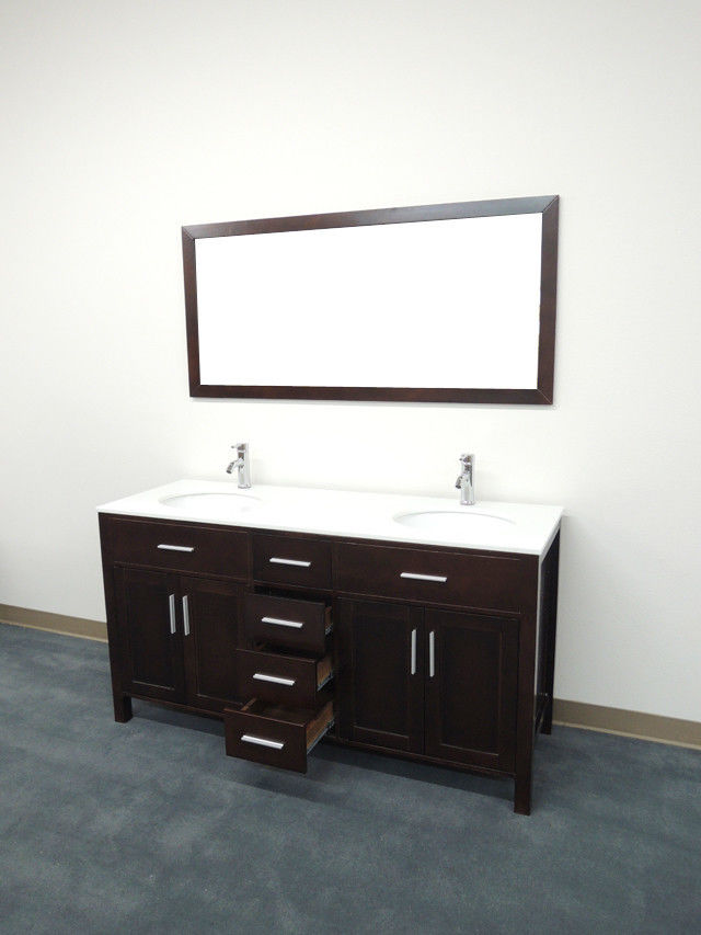 "OS - 63"" Traditional Double Sink #H"