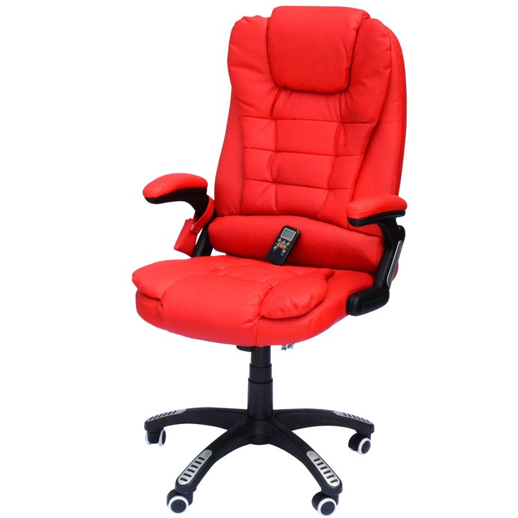 OS - Customer Chair with Heat Massage (Red)