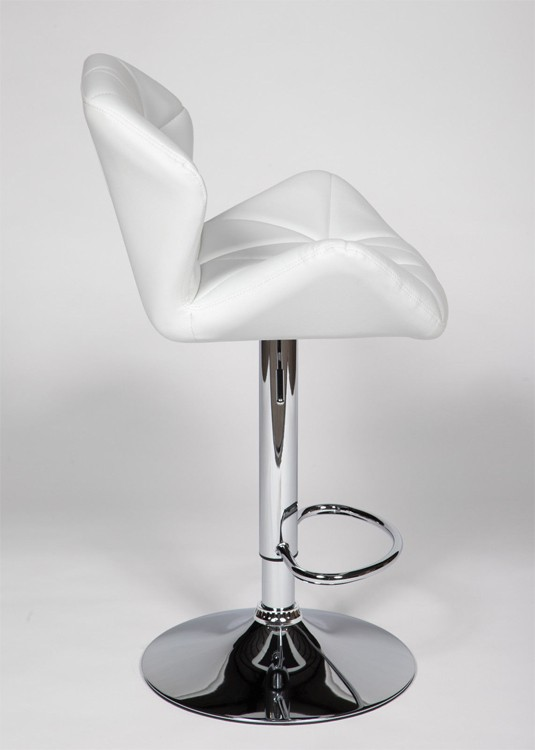 OS - 2 Nail Bar Stools (White) - Y2