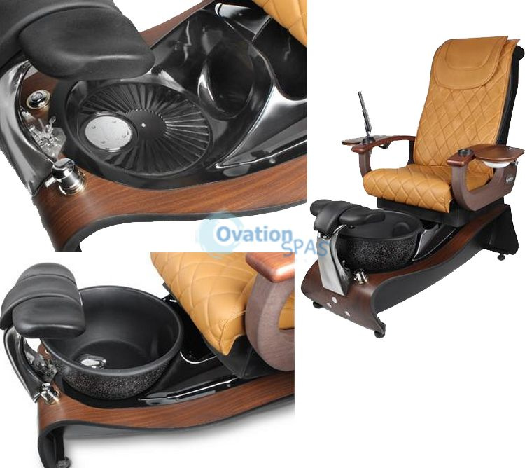 ON SALE - Plumeria® Pedicure Chair (No Plumbing)