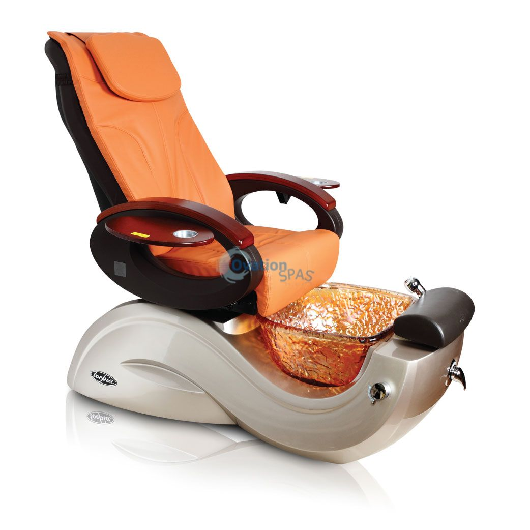 Toepia gx pedicure spa chair guarantee best price on web for Wax chair salon