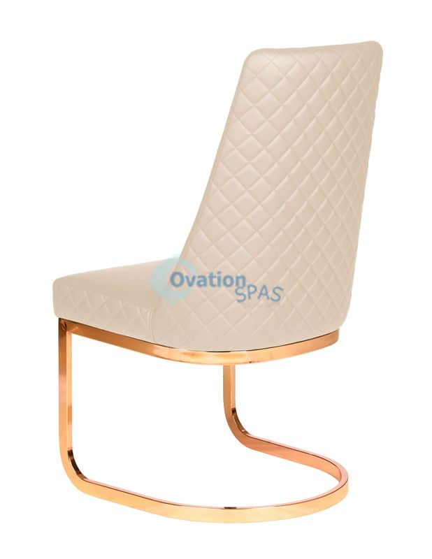 Customer Chair Khaki Diamond 8109RG - Rose Gold