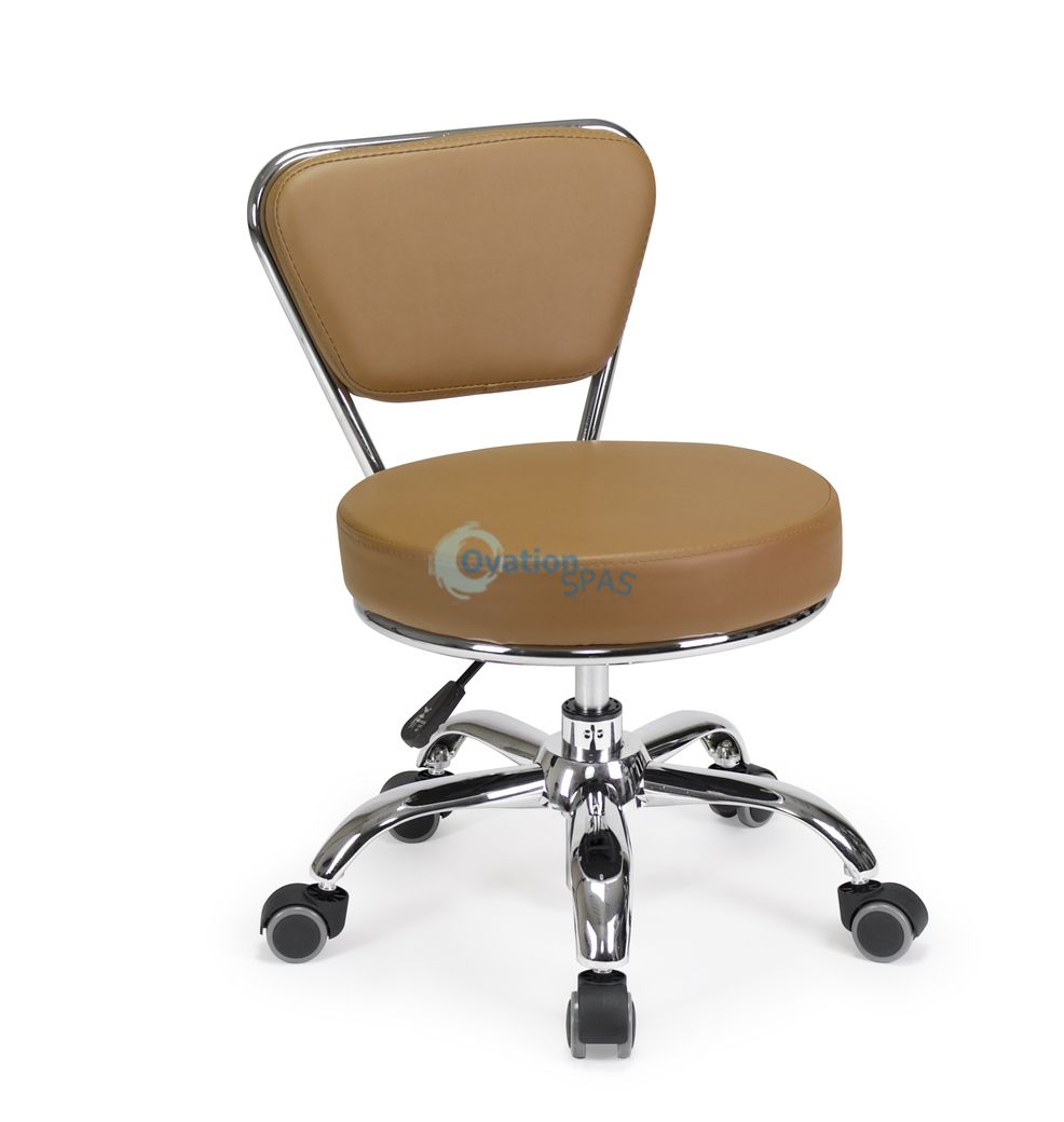 Pedicure Stool P003 (Cappuccino)