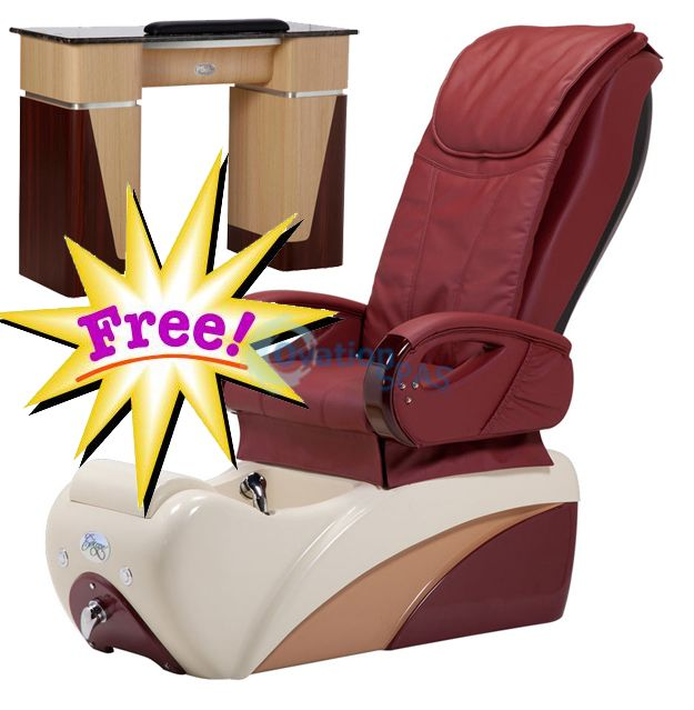 Free Manicure Table with Pedicure Chair NT#2
