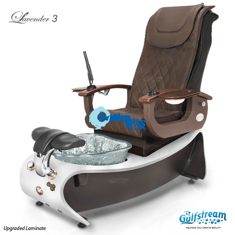 Lavender 3 Pedicure Spa Chair