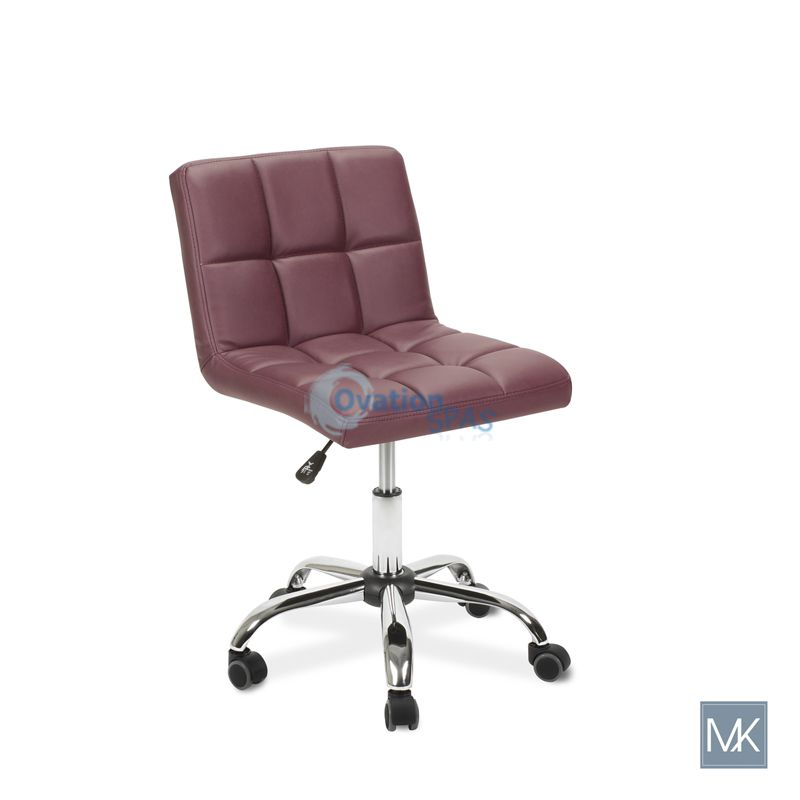 Employee Chair T001 (Burgundy)