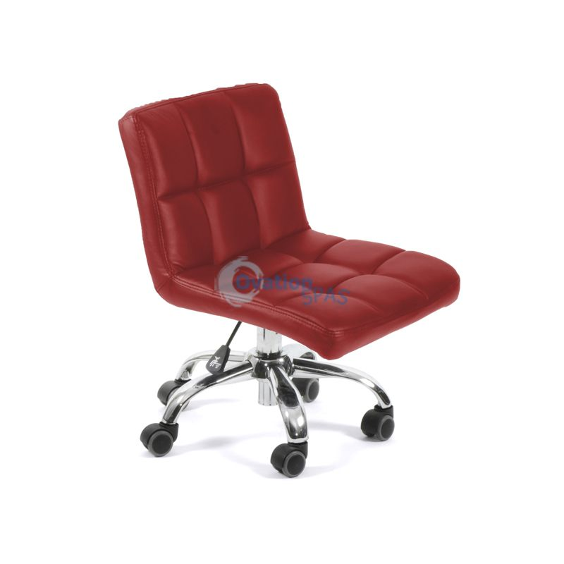 Pedicure Stool P001 (Red)