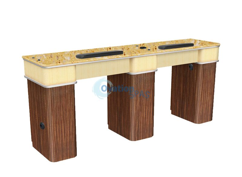 Verona™ II Double Manicure Table