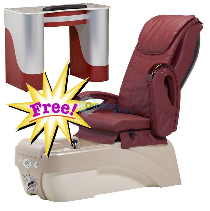 Free Manicure Table with Pedicure Chair NT#4