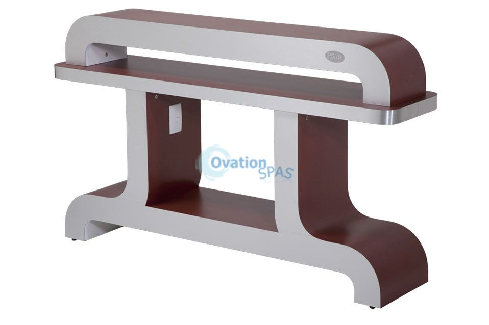 PSOA - Dryer Station UV-9BS (Burgundy/Aluminum)