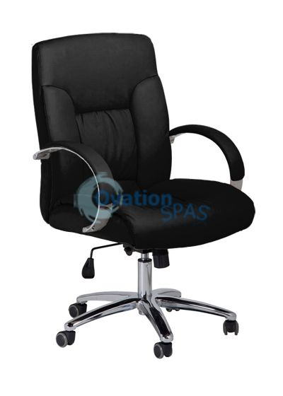 GS-004 Customer Chair (Black)