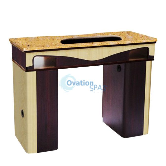 ITC - J10 Manicure Table UV Gel Hold (90+522) Yellow Marble