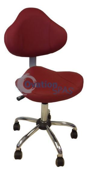 PSOA - Employee Chair (Bright Burgundy)