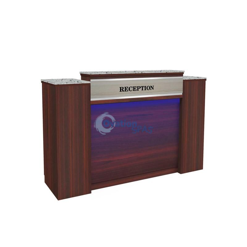 IQ 90 Reception Desk with LED 64""