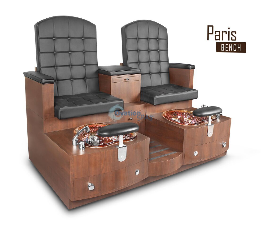 Paris Day Spa Double Pedicure Bench