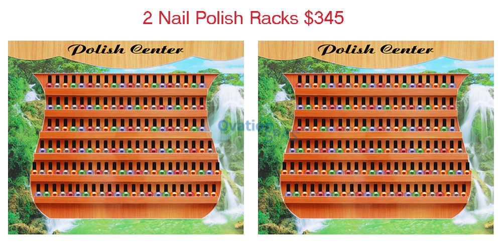 ITC - 2 Nail Polish Racks Center (283+925)
