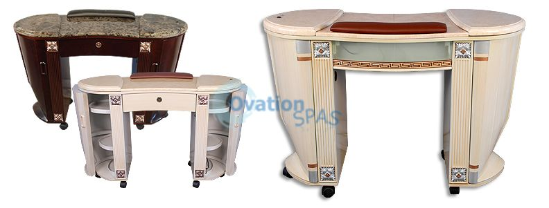 Bellagio Manicure Table