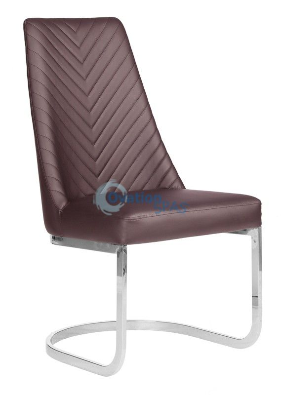 Customer Chair Chocolate Chervon 8110