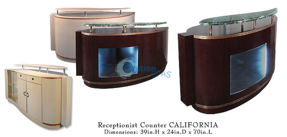 California Reception Desk