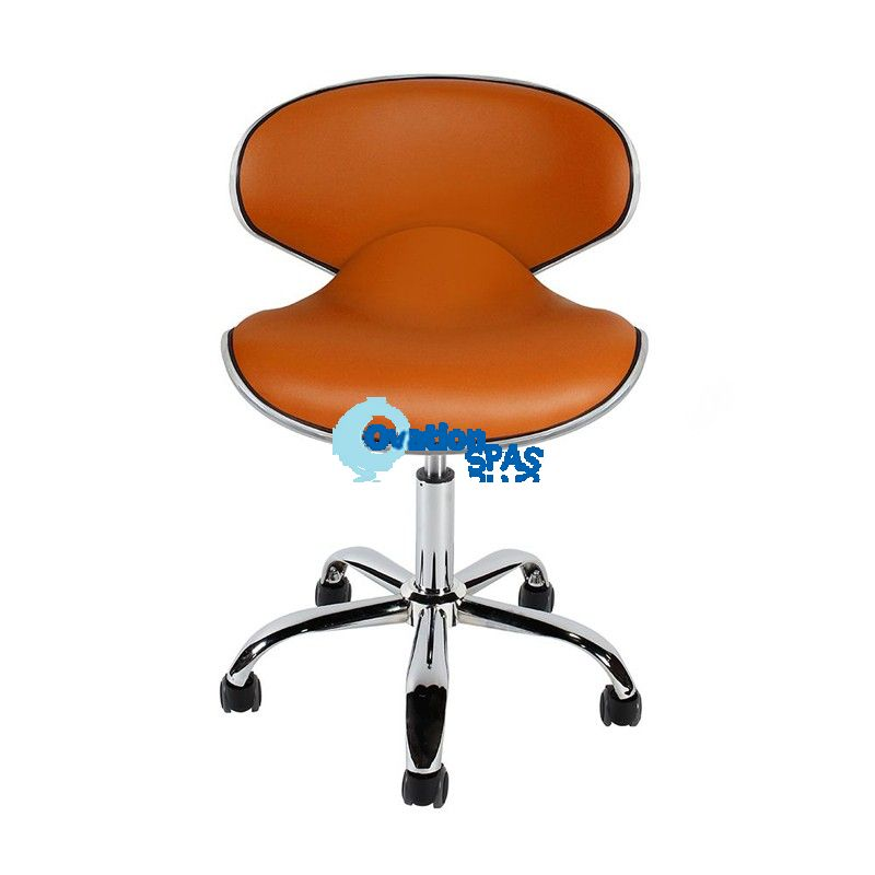 European Stool (Orange)