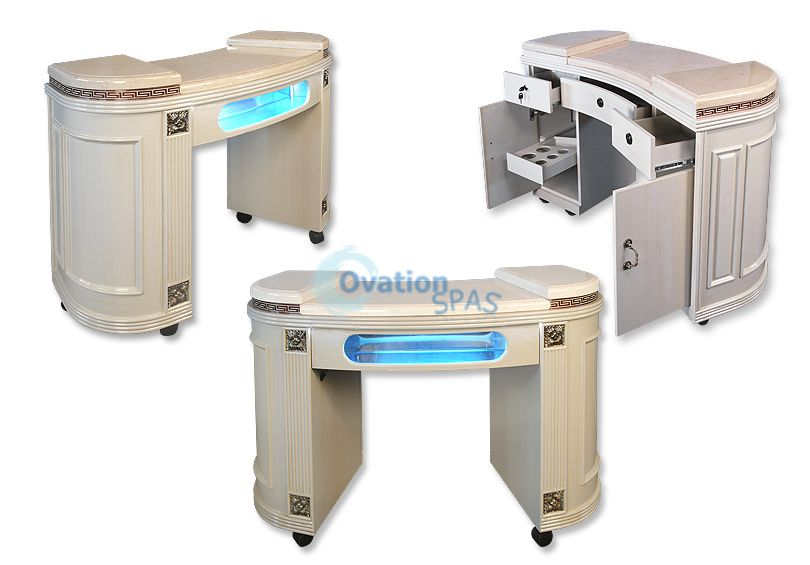 Hollywood UV Gel Manicure Table