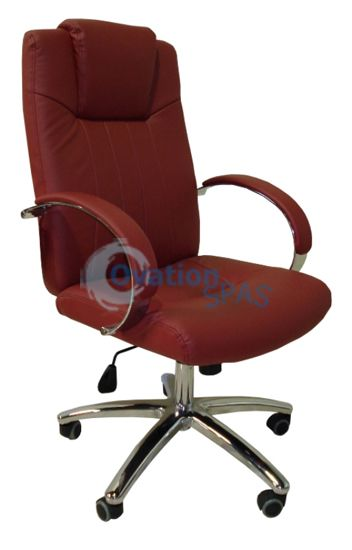 Customer Chair GC-003 (Bright Burgundy)