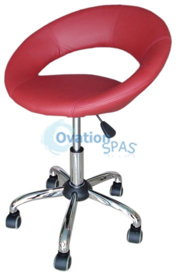PSOA - Employee Chair T2 (Bright Burgundy)