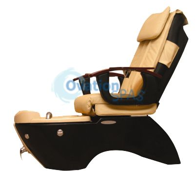 Crystal Pedicure Spa Chair