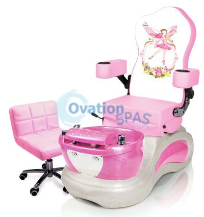 Princess #3 Kid Pedicure Spa Chair