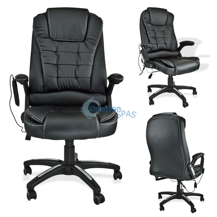 OS - Customer Chair with Massage (Black)