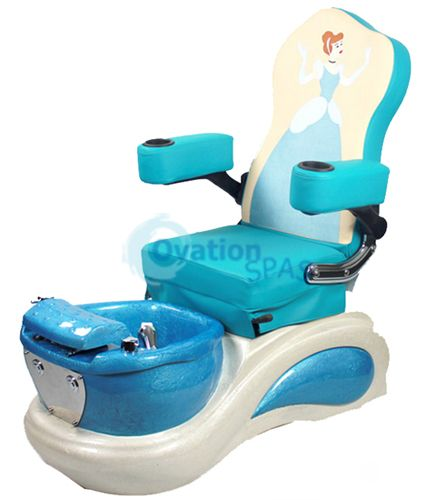 Princess #7 Kid Pedicure Spa Chair