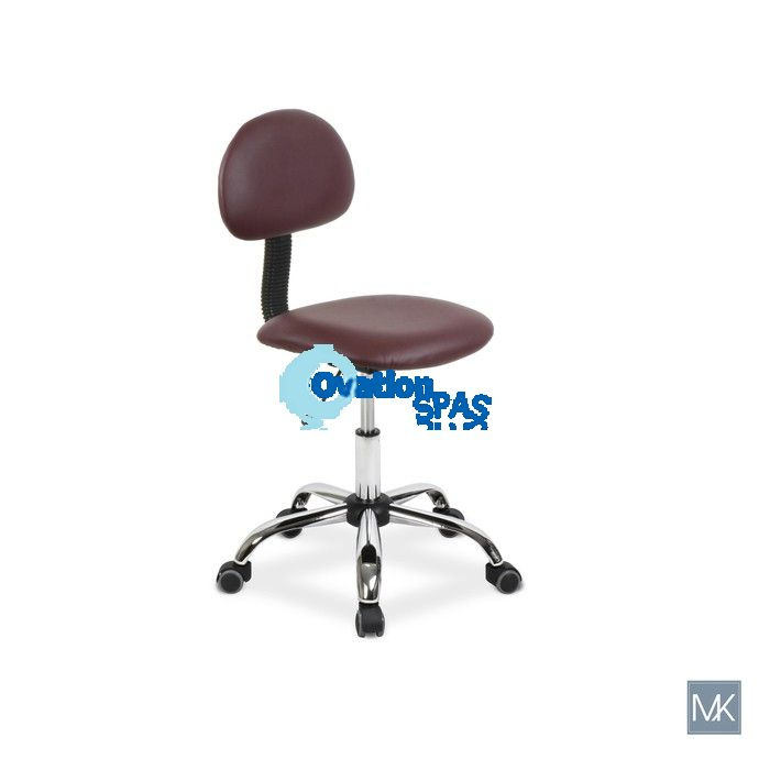 Alice Technician Stool (Burgundy)