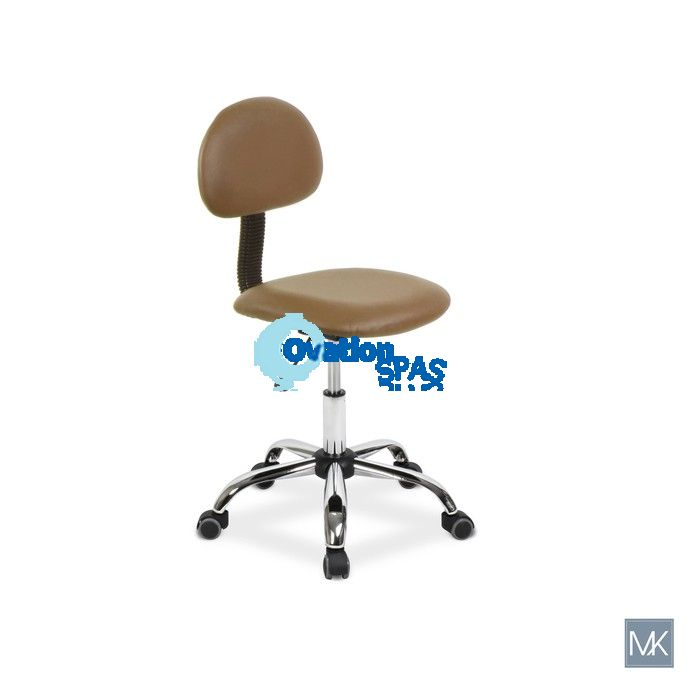 Alice Technician Stool (Cappuccino)
