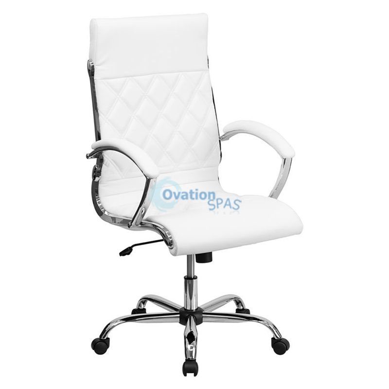 Customer Chair F (White)