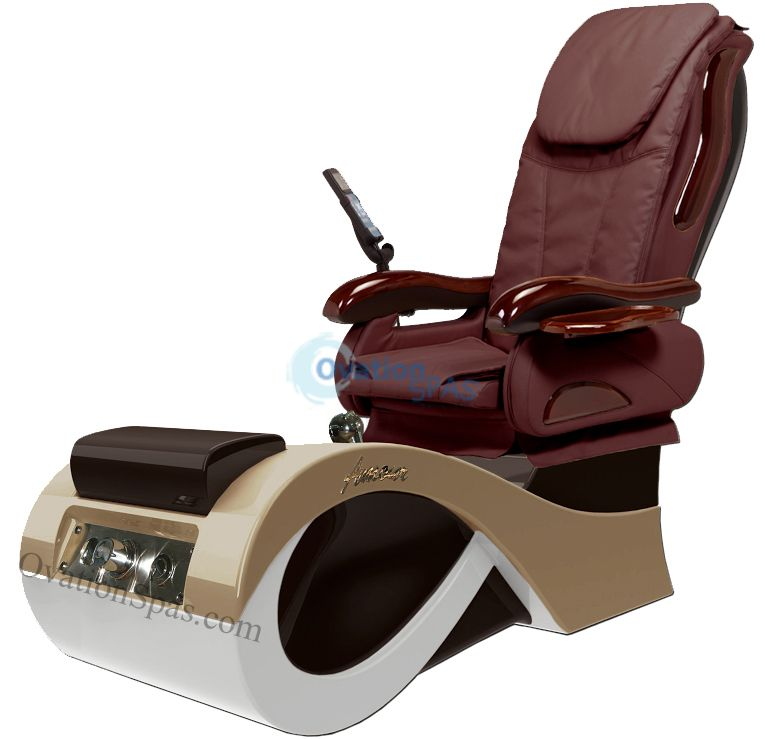 Amour 777 pedicure spa chair ovationspas pedicure for True touch massage experience luxury spa chair